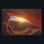 "Mesa Arch, Canyonlands National Park Placemat<br><div class=""desc"">Iconic arching rock formation at dawn near Moab</div>"