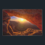 """Mesa Arch, Canyonlands National Park Placemat<br><div class=""""desc"""">Iconic arching rock formation at dawn near Moab</div>"""