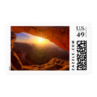 Mesa Arch, Canyonlands National Park Postage