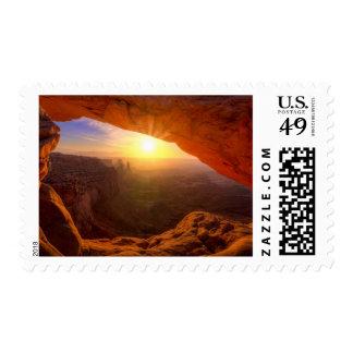 Mesa Arch, Canyonlands National Park Stamp