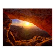 Mesa Arch, Canyonlands National Park Postcard