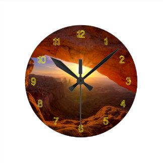 Mesa Arch, Canyonlands National Park Round Clock
