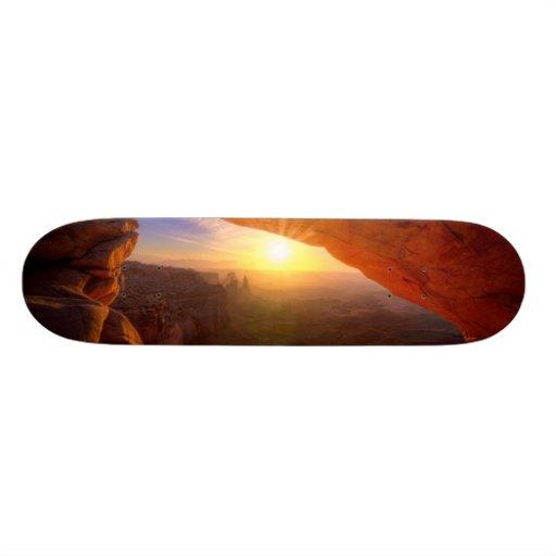 Mesa Arch, Canyonlands National Park Custom Skate Board