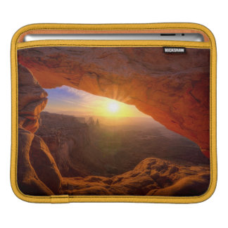 Mesa Arch, Canyonlands National Park Sleeve For iPads