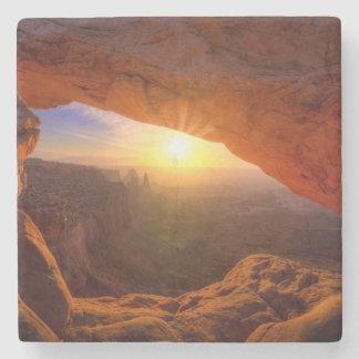 Mesa Arch, Canyonlands National Park Stone Coaster