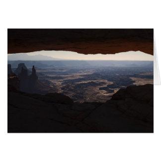 Mesa Arch Card