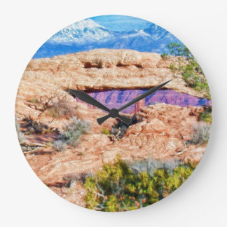 Mesa Arch Clock