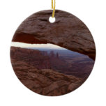 Mesa Arch I from Canyonlands National Park Ceramic Ornament