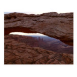 Mesa Arch I from Canyonlands National Park Postcard
