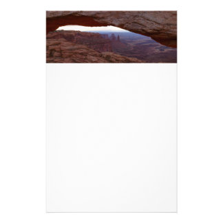 Mesa Arch I from Canyonlands National Park Stationery