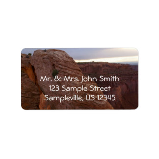 Mesa Arch II from Canyonlands National Park Label