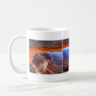 Mesa Arch, Utah, Collage Mug