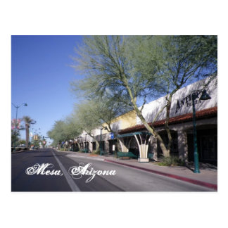 Mesa, Arizona Scenic Postcard