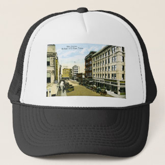 Mesa Avenue, El Paso, Texas Trucker Hat