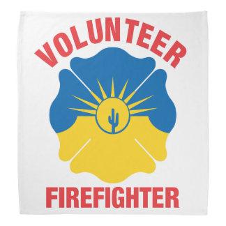 Mesa, AZ Flag Volunteer Firefighter Cross Bandana