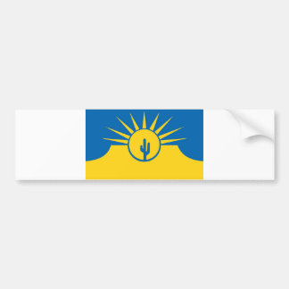 mesa city flag united state america Arizona Bumper Sticker
