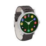 Mesa de billar - relojes