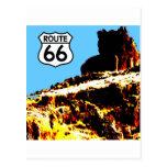 Mesa de la ruta 66 salvaje postales
