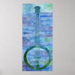 Mesa del banjo posters