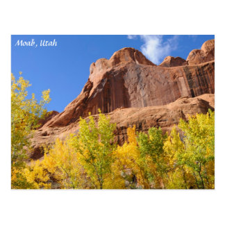 Mesa en la caída - Moab de la araña del veneno Tarjeta Postal