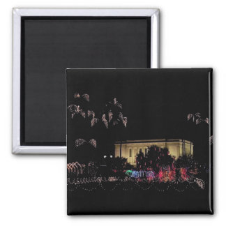 mesa temple holiday lights magnet