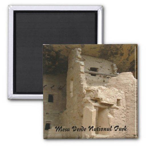 Mesa Verde 2 Inch Square Magnet