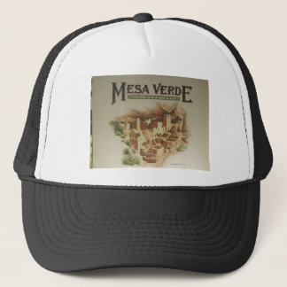Mesa Verde Anasazi  Dwellings Trucker Hat
