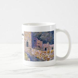 Mesa Verde, bella arte de Colorado Tazas De Café