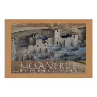 Mesa Verde Cliff Palace-Poster