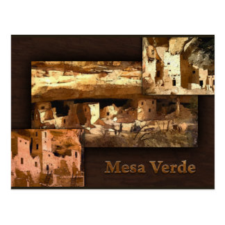 Mesa Verde Collage Post Card
