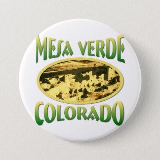 Mesa Verde Colorado Button