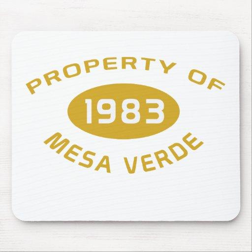 Mesa Verde Mousepad Tapete De Ratones