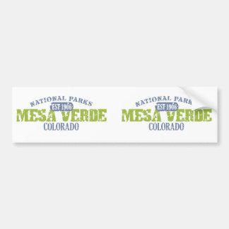 Mesa Verde National Park Bumper Sticker