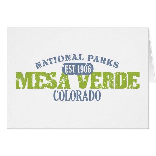 Mesa Verde National Park Card
