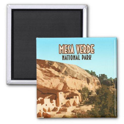 Mesa Verde National Park Colorado Magnet