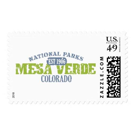Mesa Verde National Park Postage Stamps