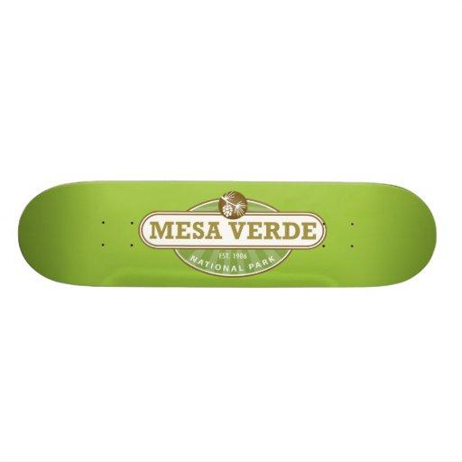 Mesa Verde National Park Skate Deck