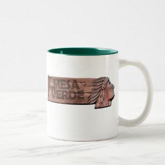 """Mesa Verde National Park Two-Tone Coffee Mug"
