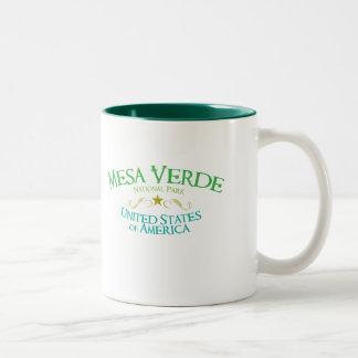Mesa Verde National Park Two-Tone Coffee Mug