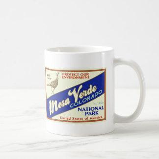 Mesa Verde National Park (Wild Turkey) Coffee Mug