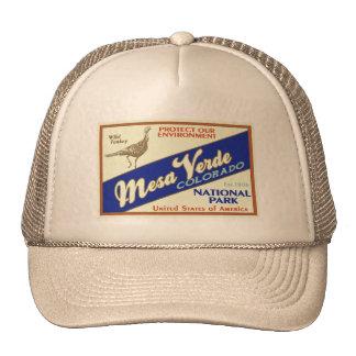 Mesa Verde National Park (Wild Turkey) Trucker Hat