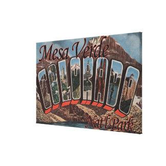 Mesa Verde Nat'l Park, Colorado Canvas Print