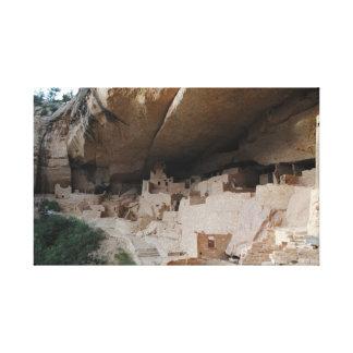 Mesa Verde Ruins Canvas Print
