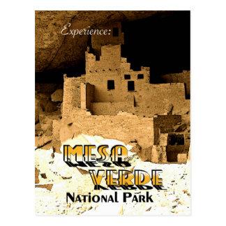 Mesa Verde - Vintage Style Postcard