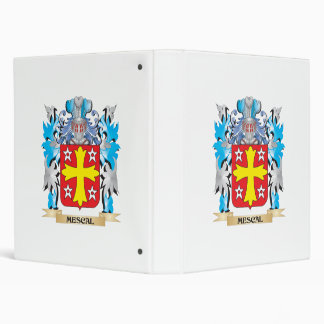 Mescal Coat of Arms - Family Crest 3 Ring Binder
