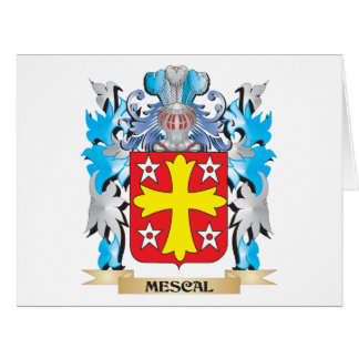 Mescal Coat of Arms - Family Crest Greeting Cards