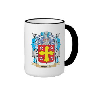 Mescal Coat of Arms - Family Crest Ringer Coffee Mug
