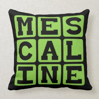 Mescaline, droga alucinógena cojines