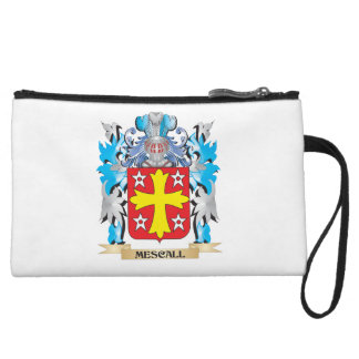 Mescall Coat of Arms - Family Crest Wristlet Clutch