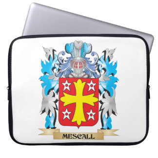 Mescall Coat of Arms - Family Crest Laptop Sleeves